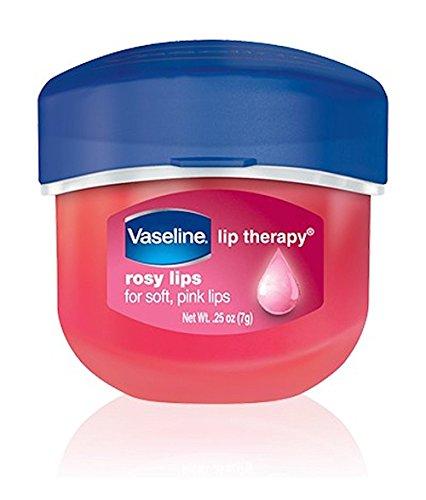 Vaseline Vaseline, Rosy Lips, Lip Therapy.25 OZ, (Pack of 4)