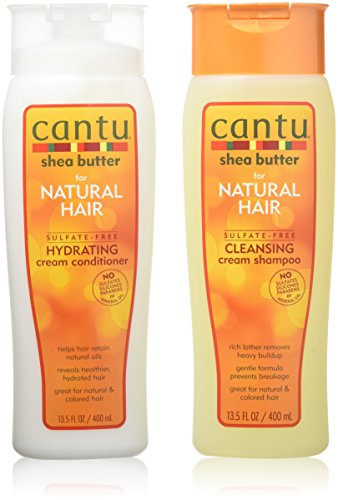 Cantu - Cantu Shea Butter for Natural Hair Double Combo Shampoo and Conditioner