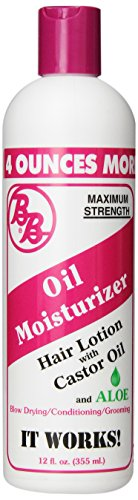 BB - Oil Moisturizer, Hair Lotion With Castor Oil and Aloe
