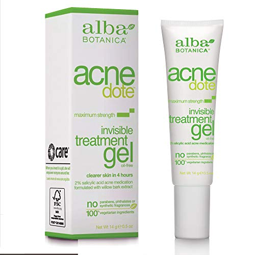 Alba Botanica - Acnedote Maximum Strength Invisible Treatment Gel