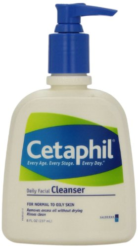 Cetaphil - Cetaphil Daily Facial Cleanser for Normal to Oily Skin, 8 Ounce
