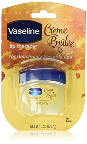 Vaseline - Vaseline Lip Therapy Lip Balm, Creme Brulee 0.25 oz (Pack of 2)