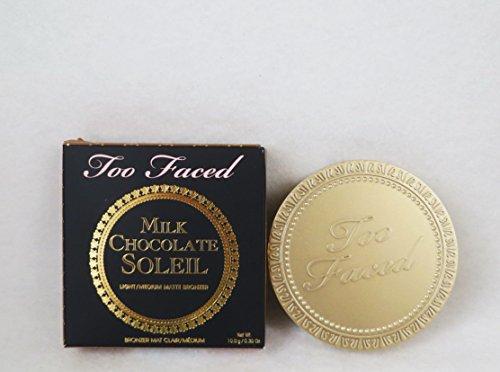 Too Faced - Too Faced Milk Chocolate Soleil Bronzing Powder Light Medium Matte Bronzer .35 Ounce