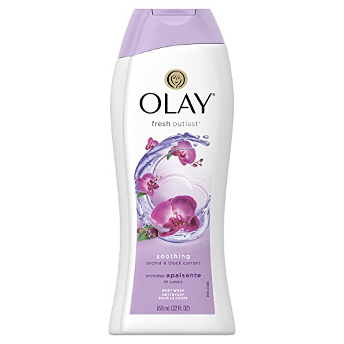 Olay - Body Wash for Women by Olay, Fresh Outlast Soothing Orchid and Black Currant Body Wash, 22 Fluid Ounce