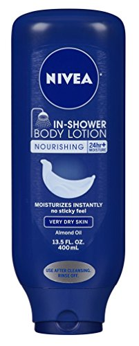 Nivea - Nivea Lotion In-Shower Nourish For Very Dry Skin 13.5 Ounce (400ml) (6 Pack)