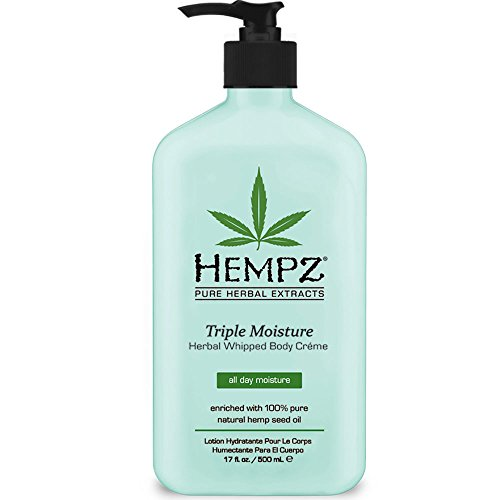 Hempz - Hempz Triple Moisture Herbal Whipped Body Creme, 17 Fluid Ounce