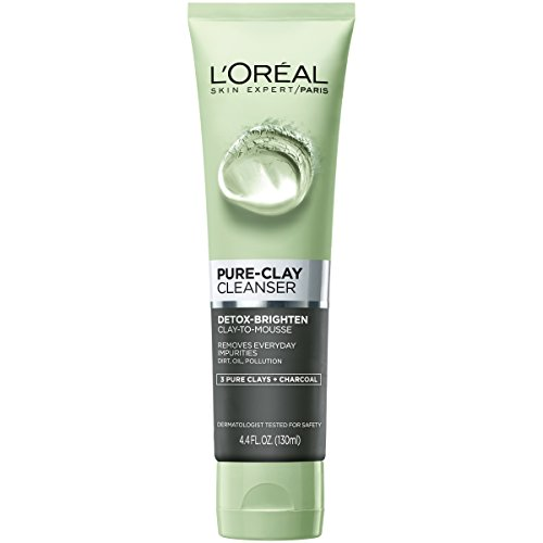 L'Oreal Paris Pure-Clay Facial Cleanser with Charcoal