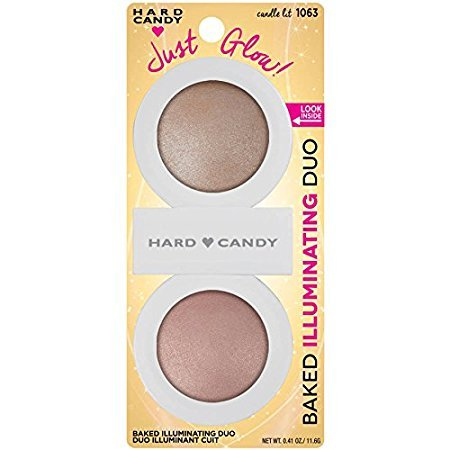 Hard Candy - Hard Candy Just Glow Baked Illuminating Duo, 1063 Candle Lit