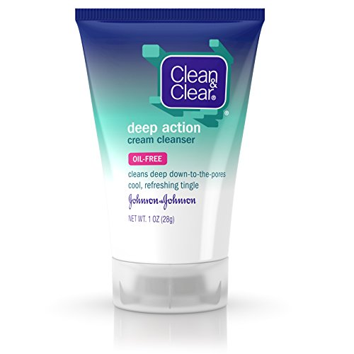 Clean & Clear - Deep Action Cream Facial Cleanser with Salicylic Acid