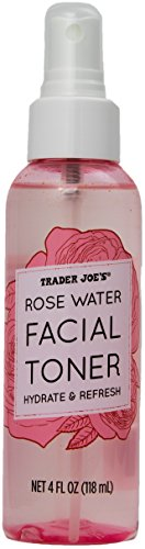Trader Joe's Rose Water Facial Toner Hydrate and Refresh