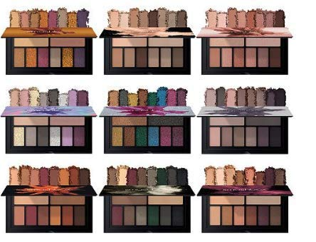 Smashbox 9-Pc. Cover Shot Eye Shadow Palettes Set Holidaze