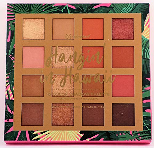 BHCosmetics - BH Cosmetics 16 Color Eyeshadow Palette, Hanging Hangin' In Hawaii