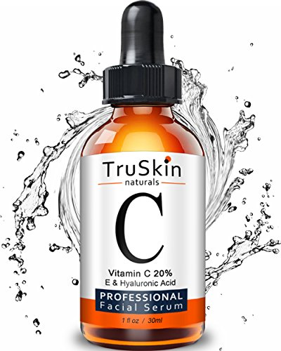 TruSkin Naturals TruSkin Naturals Vitamin C Serum for Face, Topical Facial Serum with Hyaluronic Acid & Vitamin E, 1 fl oz.