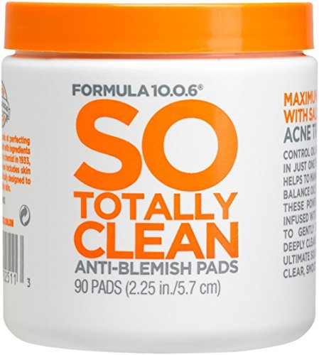 Formula Ten-O-Six - Formula Ten O Six So Totally Clean Anti-Blemish Pads