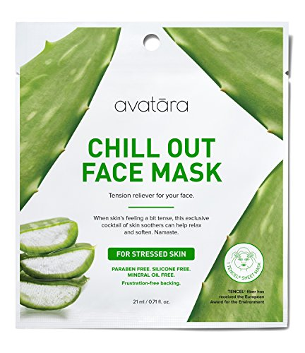 Avatara - Chill Out Face Sheet Mask for Stressed Skin