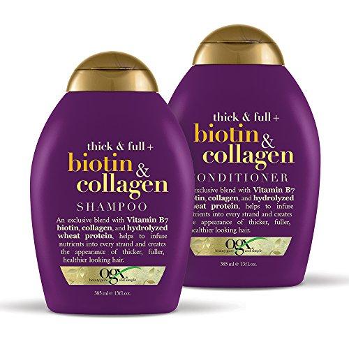 OGX - OGX Biotin & Collagen Set, Shampoo & Conditioner, 13 Ounces