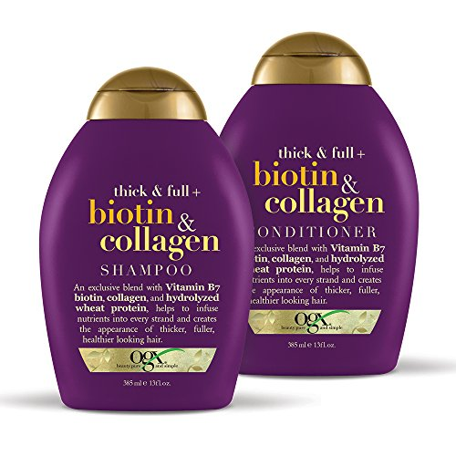 OGX - OGX Biotin & Collagen Set, Shampoo & Conditioner, 13 Ounces