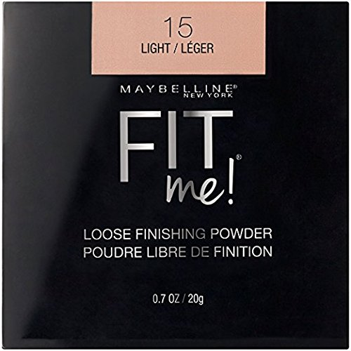 Maybelline New York - Maybelline Fit Me Loose Finishing Powder, 15 Light, 0.7 oz (Pack of 2)