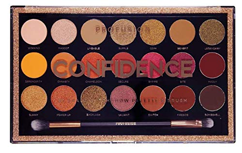 Profusion Cosmetics - 21 Shade Eyeshadow Palette, Confidence