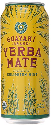 Guayaki - Guayaki Organic Yerba Mate, Enlighten Mint, 16 oz
