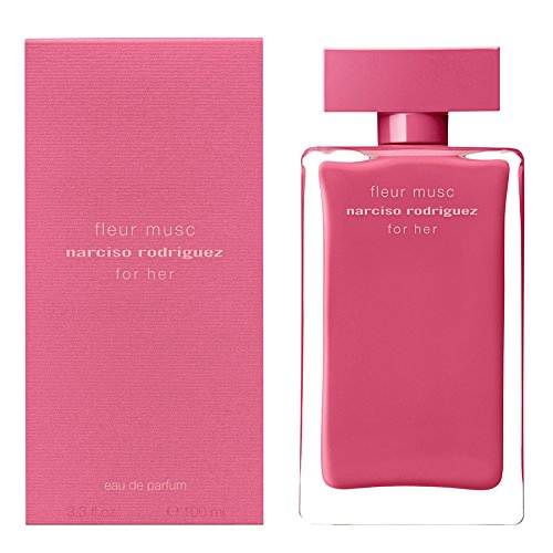 Narciso Rodriguez Narciso Rodriguez Fleur Musc For Her Eau de Parfum Spray, 3.3 Ounce