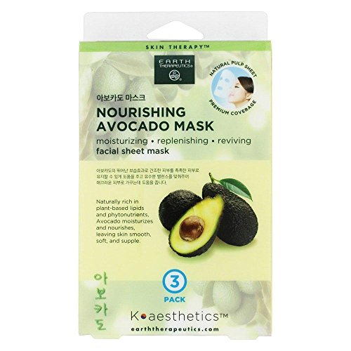 Earth Therapeutics - Nourishing Avocado Facial Sheet Mask