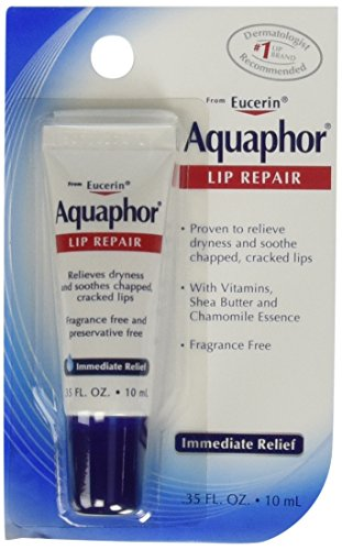 Aquaphor - Aquaphor Lip Repair Tube Blister Card, 0.35 Ounce (Pack of 4)
