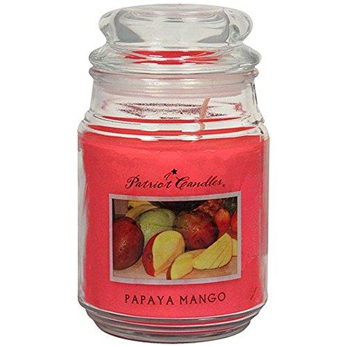 Lighthouse - Patriot Candle Jar, Papaya Mango