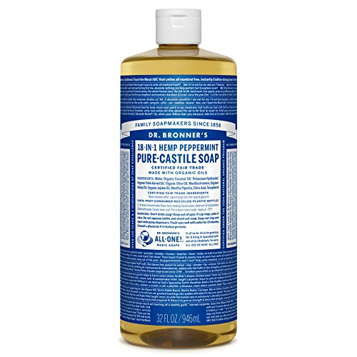 Dr. Bronner's - Pure-Castile Liquid Soap - Peppermint