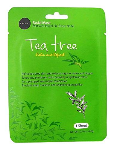 Celavi Cosmetics - Paper Sheet Mask, Tea Tree