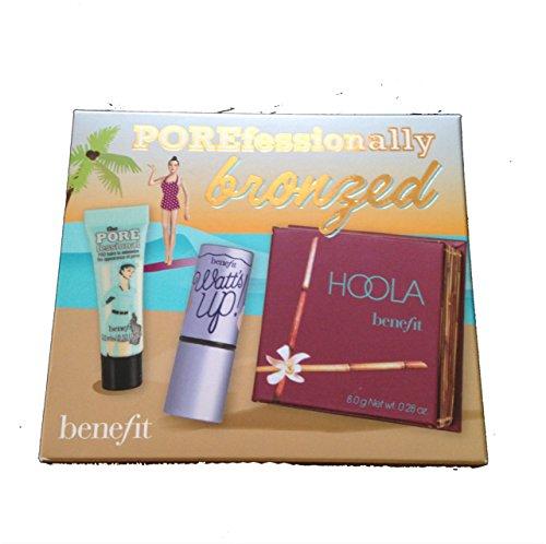 Benefit Cosmetics - Benefit POREfessionally Bronzed Trio - Hoola (Full Size), Watts Up and POREfessional