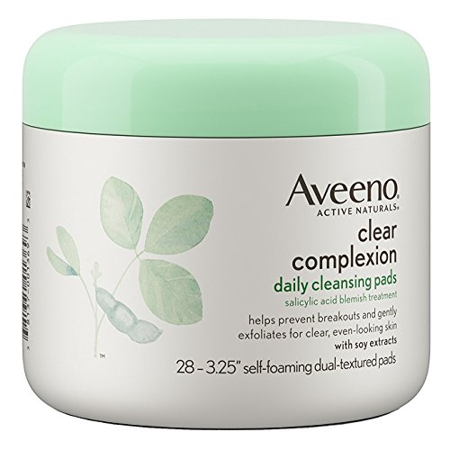 Aveeno - Aveeno Clear Complexion Cleansing Pads 28 Count Jar (6 Pack)