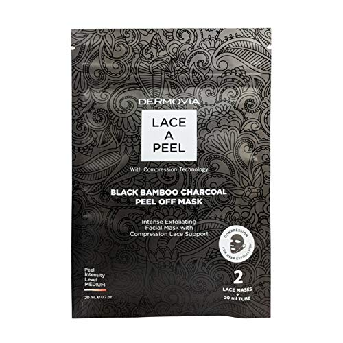 Dermovia - Lace a Peel, Black Bamboo Charcoal Peel Off Mask