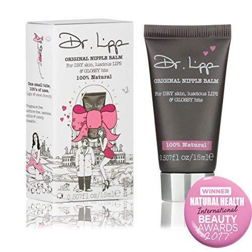 Dr. Lipp - Dr. Lipp - Organic Lanolin Lip Balm & Nipple Cream - Natural Moisturizer For Dry Chapped Lips, Nursing or Breastfeeding, Diaper Rash, Eyelashes, Sore Nose & So Much More (15 ml)