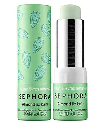 null - Sephora Collection Lip Balm Almond Clear Suppler Lips Nurtures and Moisturizes Sealed Full Size Authentic