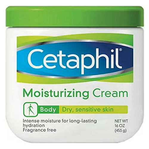 Cetaphil - Cetaphil Moisturizing Cream for Dry/Sensitive Skin, Fragrance Free 16 oz