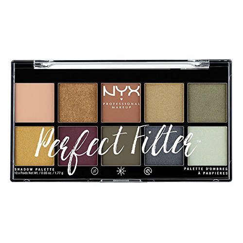 NYX - Perfect Filter Shadow Palette, Olive You