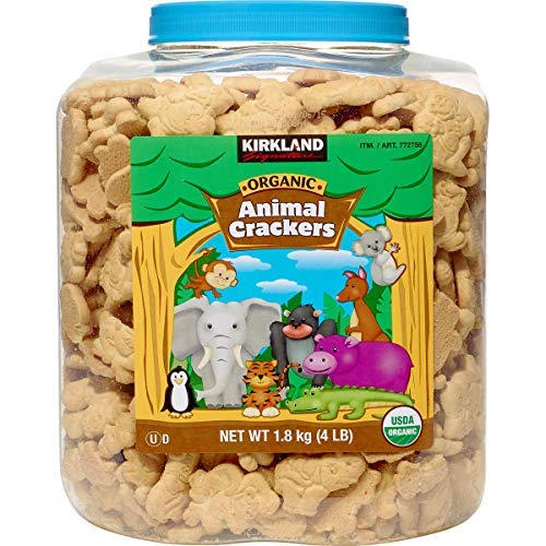 Kirkland Signature - Kirkland Signature Organic Animal Crackers, 64 oz, 4 lbs