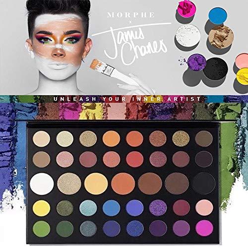 Hewins - Morph X James Charles Inner Artist 39 Pressed Eye Shadow Palette MakeUp