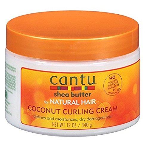 Cantu - Cantu Natural Hair Coconut Curling Cream 12 Ounce Jar (2 Pack)