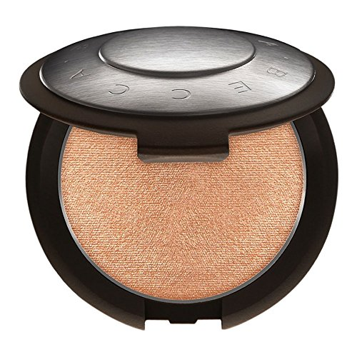 BECCA - BECCA Shimmering Skin Perfector Pressed - Champagne Pop - soft white gold w/ pinky peach undertones
