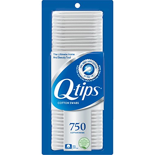 Q-Tips - Q-tips Cotton Swabs, 750 ct