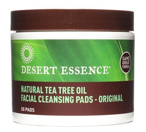 Desert Essence - Desert Essence Face Cleansing Pad Ttree