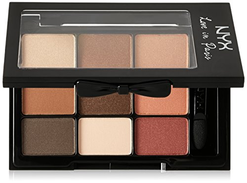 NYX - Love in Paris Eyeshadow Palette, Merci Beaucoup