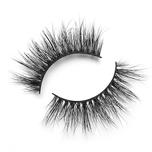 Lilly Lashes - Lilly Lashes 3D Mink So Extra Miami   False Eyelashes   Dramatic Look and Feel   Reusable   Non-Magnetic   100% Handmade & Cruelty-Free