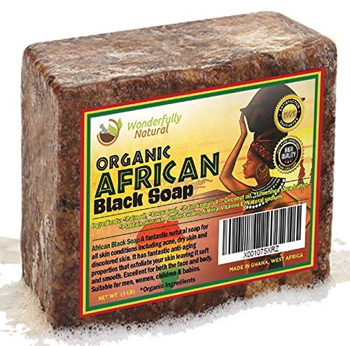 Wonderfully Natural - African Black Soap Bar