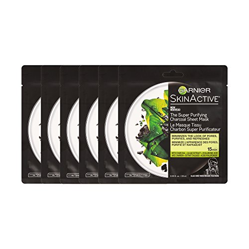 Garnier - SkinActive Super Purifying Charcoal Sheet Mask