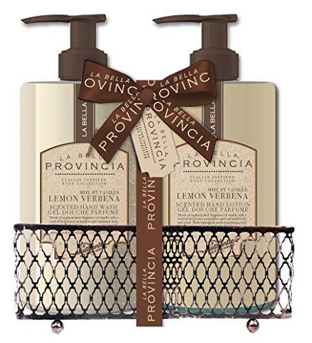 La Bella Provincia - La Bella Scented Body Lotion Set Packed In Beautiful Gift Box (Hand Wash & Lotion Set)