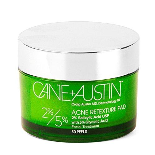 CANE + AUSTIN - Acne Retexture Pad, Salicylic and Glycolic Acids