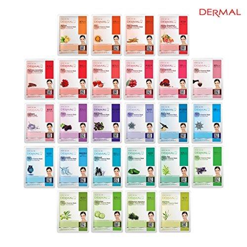 Dermal - Collagen Essence Full Face Facial Mask Sheet